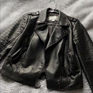 Xhilaration Faux Leather Coat